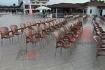 Пластмасови столове за басейн