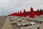Шезлонги за плажна ивица с различни цветове