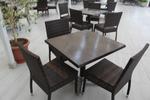 Плотове за маса за бар на плажа от верзалит