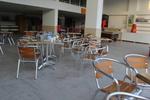 Дизайнерски плот за маса за кафене от верзалит