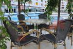 Дизайнерски плот за маса за плаж от верзалит