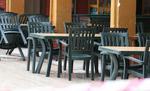 Пластмасова здрава маса за бар