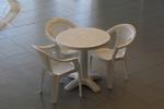 Пластмасова маса за лятно заведение, за открити пространства