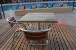 Основи за маси за басейни, за външно ползване