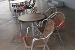 Стилна база за бар маса за кафене