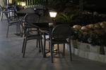 Основи за бар маси от неръждаема стомана за хотели