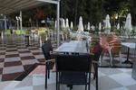 Модерна база за бар маса за басейн