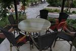 Верзалитов плот за маса за ресторант