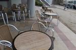 Качествен алуминиев стол за външно и вътрешно ползване