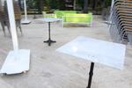 Уникални основи за маса за външно ползване