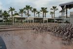 Външни алуминиеви столове за хотел