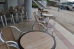 Алуминиеви столове за лятно заведение