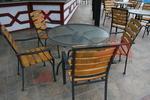 Прахово боядисана база за Вашата маса, от високоустойчиви материали