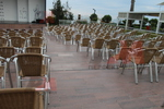 Алуминиеви столове за заведение с доставка