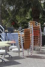 Столове за плаж,произведени от алуминии,различни модели