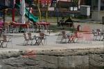 Градински столове от алуминии за басейн