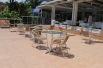 Комфортни алуминиеви столове за ресторант