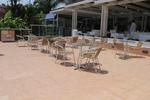 Устойчиви столове от алуминий за кафене