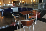 Здрави алуминиеви столове с различни визии