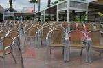 алуминиев стол за плаж