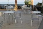 Метална алуминиева маса за ресторанти