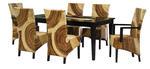 Богатство от изпълнения на ратанова  мебел по поръчка за къщата Пловдив