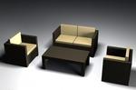 Богатство от изпълнения на ратанова мебел за фреш бар Пловдив