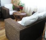 Ратанова стилна мебел за малки хотели Пловдив
