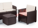 Ратанова стилна мебел за бар на плажа Пловдив