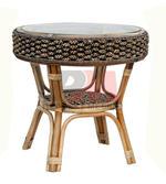 Ратанова  мебел за открито и закрито на летния бар Пловдив