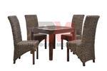 Вътрешна и външна ратанова  мебел за заведение за бързо хранене Пловдив