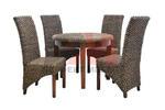 Каталожен избор на мебели от ратан за заведение за бързо хранене Пловдив