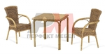 Вътрешна и външна ратанова  мебел за бар на плажа Пловдив