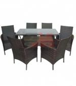 мебел от кафяв или тъмен ратан с високо качество и дълъг срок на използване Пловдив