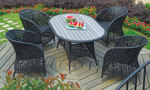 Вътрешна и външна ратанова мебел за задния двор Пловдив