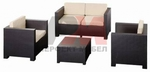 Вътрешна и външна ратанова мебел за тераса Пловдив