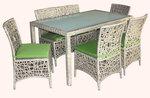 Мебели от ратан за външно и вътрешно ползване в заведението Пловдив