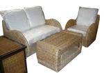 Ратанова  мебел за открито и закрито на плажната ивица Пловдив