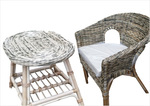 Вътрешна и външна ратанова  мебел за малки хотели Пловдив