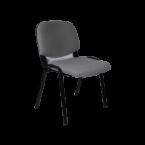 Посетителски стол сив