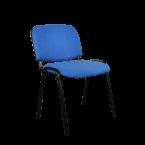 Посетителски стол син