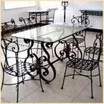 Столове от ковано желязо за Вашата градина София