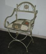 Универсален стол от ковано желязо за вътрешно и външно използване София магазин