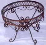 Комфортна желязна кована маса София