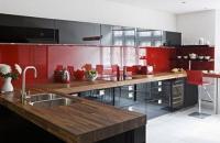кухня с принт стъкло по поръчка София