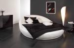 Тапицирани кръгли легла с дамаска София луксозни