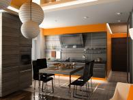 лукс поръчкова кухня с картинка София
