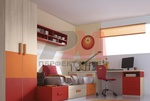 Уникални модели на детски стаи с двуетажни легла София