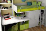 Дизайнерска детска стая с двуетажно легло София