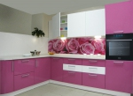 лукс кухня с картинка по проект София